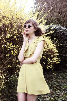 Another lovely Summerland dress (photographed by Anja Verdugo of Clever Nettle)