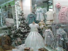 Nuestro escaparate de Navidad. Moda infantil en Albacete