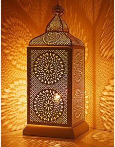 TAJ EL LANTERN white | Electric lamps | Lamps | Home | INDISKA Shop Online