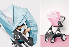 STOKKE STORIES: Keep your baby cool and Dress your stroller for the summer heat.