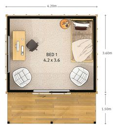 Sleepout | Versatile Sleepout | Tiny Home | Holiday Home | Inspiration | Floor Plan Design Plan Design, Game Room, Tiny House, Floor Plans, Flooring, How To Plan, Holiday, Inspiration, Biblical Inspiration