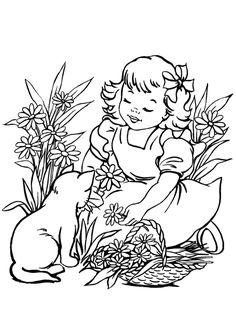 Cat Coloring Pages Free Print Templates All About For Kids