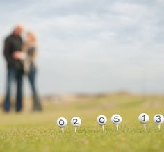 Golf Engagement Shoot.
