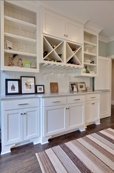Dining Room Built In Cabinets And Storage Design (7)