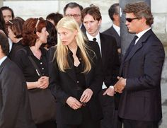 CBK at Gianni Versace's funeral