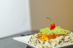 La recette du chili con carne et du chili sin carne (vegan et sans gluten) est disponible sur le blog www.foodetcaetera.com Sans Gluten, Vegan Gluten Free, Guacamole, Mexican, Ethnic Recipes, Blog, Chili Con Carne, Budget, Lentil Soup