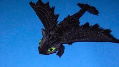 """3D origami dragon Night fury (Toothless) tutorial (instruction) - Published on Jun 27, 2014 3D origami dragon Night fury (Toothless) tutorial (instruction) http://3d_origami.bringingsuccess.ru This video shows how to make volumetric dragon Night fury of carton """"How to Train Your Dragon"""" in the art 3D origami. This model made with their own hands surely appeal to all lovers of this cartoon. If you have friends or acquaintances who are very fond of """"How to Train Your Dragon"""", then do the Nigh"""