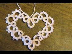 Youtube video instructions for needle tatting heart