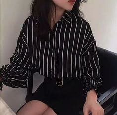 ғᴏʟʟᴏᴡ ᴍᴇ ☆ Korean fashion outfits ideas grunge outfit inspiration work fashion style Impressive School Outfits Ideas To Wear This Winter Korean Fashion Edgy Outfits, Korean Outfits, Mode Outfits, Grunge Outfits, Cute Casual Outfits, Girl Outfits, Fashion Outfits, Fashion Ideas, Korean Clothes