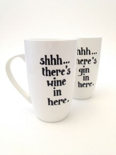 Toasted Glass - Shhh....there's wine in here mug