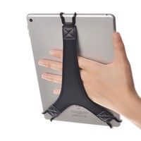 "Wish | TFY Security Hand Strap Holder Finger Grip for Tablets - iPad Air / iPad Pro 9.7"" / iPad 9.7"" / Samsung Galaxy Tab 10.1"" / Tab 4 10.1"" / Tab Pro 10.1"" / Tab S 10.5 and More"
