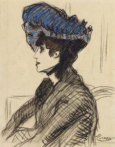Pablo Picasso - Jane Avril, 1901