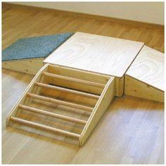 Pikler freitreppe ideas deco me pinterest klettern for Raumgestaltung montessori