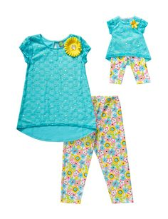 Shop today for Dollie & Me 2-pc. Turquoise Jeweled Top & Pant Set – Girls 4-14 & deals on Sets! Official site for Stage, Peebles, Goodys, Palais Royal & Bealls.