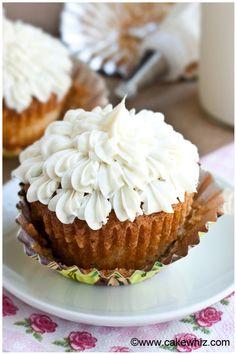 My favorite vanilla cupcakes FoodBlogs.com