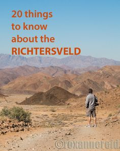 20 things to know about the Richtersveld. Author of A Walk in the Park (about road tripping around South Africa's national parks) shares her hints about the Richtersveld. Find it on Amazon https://www.amazon.com/gp/product/B017ZZ56SI/