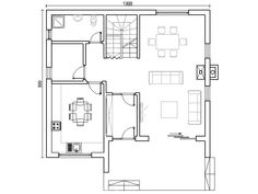 Proiect casa Elephant Coloring Page, House Blueprints, Design Case, Floor Plans, Architecture, Home, Houses, Modern, Arquitetura