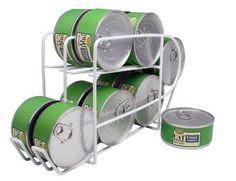 IRIS Wire Can Dispenser for Canned Cat Food Storage, 5-1/2-Ounce, 12 Cans IRIS USA, Inc. http://www.amazon.com/dp/B00186VM2K/ref=cm_sw_r_pi_dp_XU.hub11JT714