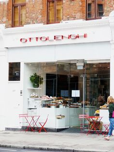 Ottolenghi | London.  This place has amazing food and a great atmosphere.