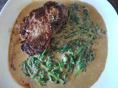 Biff med spinat | Lavkarbo gjort enkelt Nom Nom, Pork, Meat, Spinach, Pork Roulade, Pigs, Pork Chops