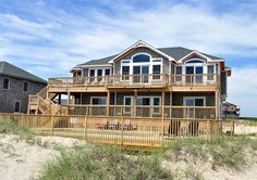 Twiddy Outer Banks Vacation Home - Valhalla - 4x4 - Oceanfront - 5 Bedrooms