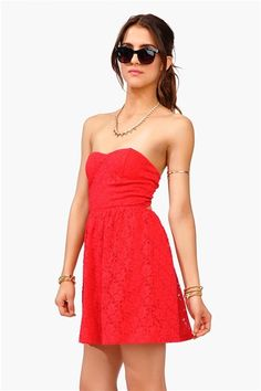 Eve Lace Tube Dress - Shop Necessary Clothing this Memorial Weekend & save 20% with promo code MEMORIAL20