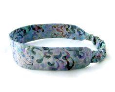Batik Zen Flower Headband  Fabric with by NewEnglandQuilter, $8.00