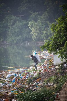 Helaas, WÌJ zijn verantwoordelijk ~ It's a shame, MAN-made-pollution, Caro