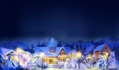 Wallpaper HD Widescreen Christmas
