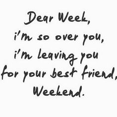 Weeeee weekend! #friday #letsparty #chill #relax