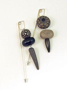 lantern stick pins by Loretta Finnlam