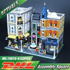 Lepin 15019 4002pcs MOC Creative Creator Series The Assembly Square Set Building Blocks Bricks Toys Small piece block 10255