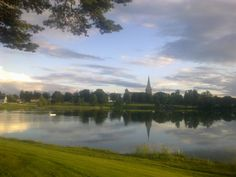 This is a picture of Tunevannet, Sarpsborg, Norway. Land Of Midnight Sun, Fredrikstad, Lapland Finland, Norway, Places Ive Been, Travel Inspiration, Flora, Landscapes, Around The Worlds