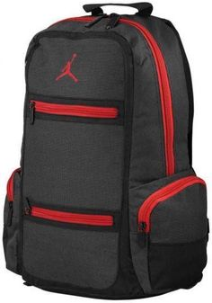 Nike Air Jordan Backpack Bag Laptop Black Red Men Women Boys Girls School  Book 7233d5ad7c