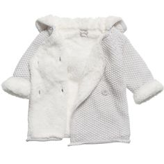 Product Details About The Little Tailor Washing Instructions    The Little Tailor pale grey pram coat made from a knitted cotton with soft plush lining. In ...