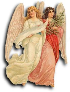 Victorian scrap: Angels by Antique Photo Album, via Flickr