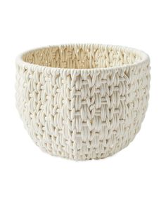 Handwoven of textural cotton rope, this open-style catch-all has that beachy look we adore. The interior metal frame gives it structure. Christmas Tree In Basket, Pretty Christmas Trees, Christmas Decor, Pottery Barn Baskets, Beach Living Room, Living Rooms, Sofa Styling, Cotton Rope, Storage Baskets