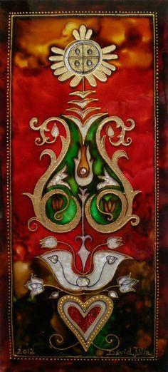 Dávid Júlia festőművész honlapja | Galéria | Üvegkompozíciók Hungarian Women, Foto Art, David, Julia, Tree Of Life, Deities, Hungary, Tattoo Inspiration, Mythology