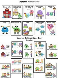 "Do you read the story ""The Day the Monster Came to School on the first week of school.?This is a great story on proper school behavior.If you don't have the story you can purchase a very similar one on TPT.http://www.teacherspayteachers.com/Product/The-Day-the-Monster-Came-to-School-Story-on-Classroom-Rules-986924This unit includes activities to go with this story or with a monster unit which is great for the first week or two of school."