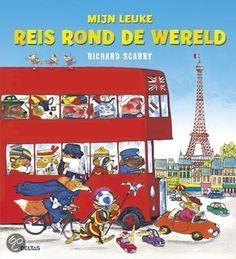 bol.com | Mijn leuke reis rond de wereld, Richard Scarry | Boeken