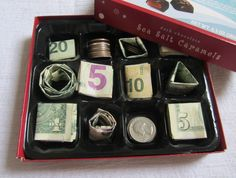 Money Chocolate Box: love this idea but I'm think of placing this in a stocking with a smaller box of course.