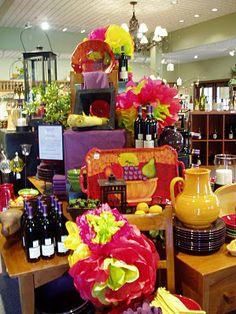 spring 2006 display at winery