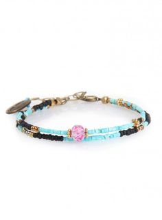 2 Beaded Strand Bracelet | Johnny Was Collection