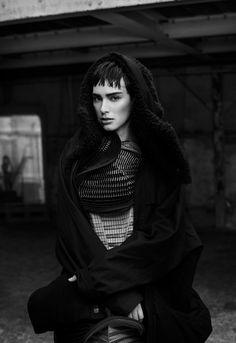 visual optimism; fashion editorials, shows, campaigns & more!: walk the dark: margaux brooke by nicolas guerin for revs digital #7