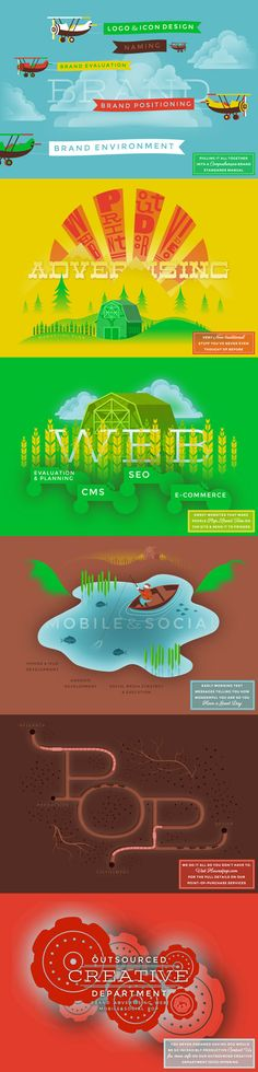 Harvest Creative website. Truly impressive illustrations and color.