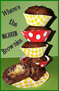 Where's The Macaroon Brownies! from: FoodThoughtsOfaChefWannabe: