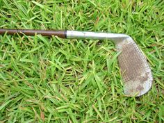 Vintage Wood Shaft Iron Golf Club                                                                                                                            SOLD