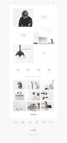 Montblanc Web Design Inspiration #siteoutsite