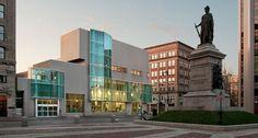 Beautiful Portland public library