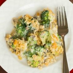 Homemade Broccoli Casserole Recipe (From Scratch) | Brown Eyed Baker